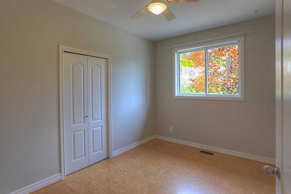entrance level bedroom
