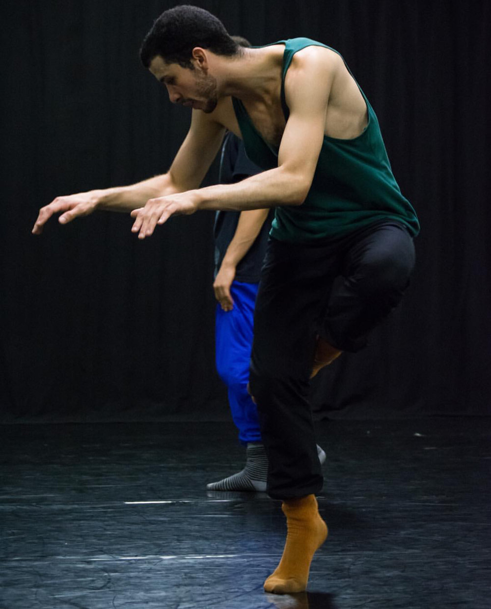 Mario Gonzalez - Mario Gonzalez is a dancer and choreographer based in Chicago. After receiving his BFA from SUNY Purchase Conservatory of Dance he joined American Repertory Ballet in Princeton NJ. Currently he is dancing with Visceral Dance Chicago. During his career he has had the opportunity to work in creative processes with Danielle Agami, Nicolo Fonte, MadBoots Dance, Kevin O'Day, Erica Sobol, Doug Varone, and Ema Yuasa. He was selected to present his piece