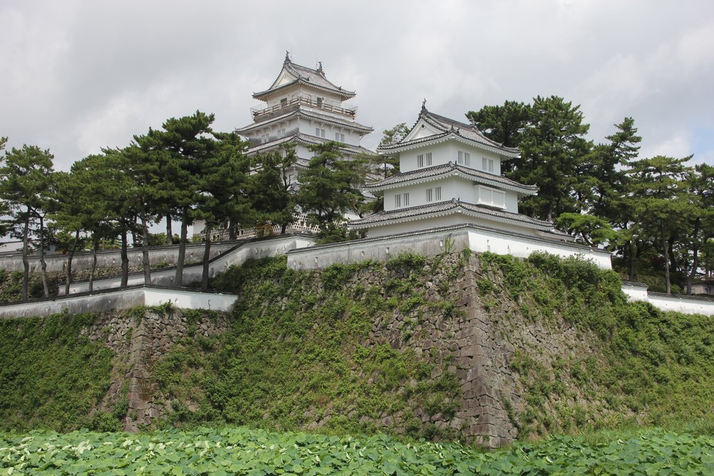 Shimabara Castle  is a typical Japanese castle located in Shimabara, Hizen Province near Nagasaki.