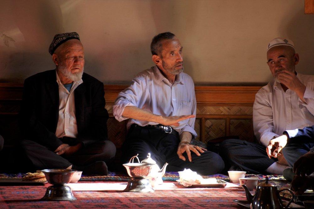 The Kashgar old tea house