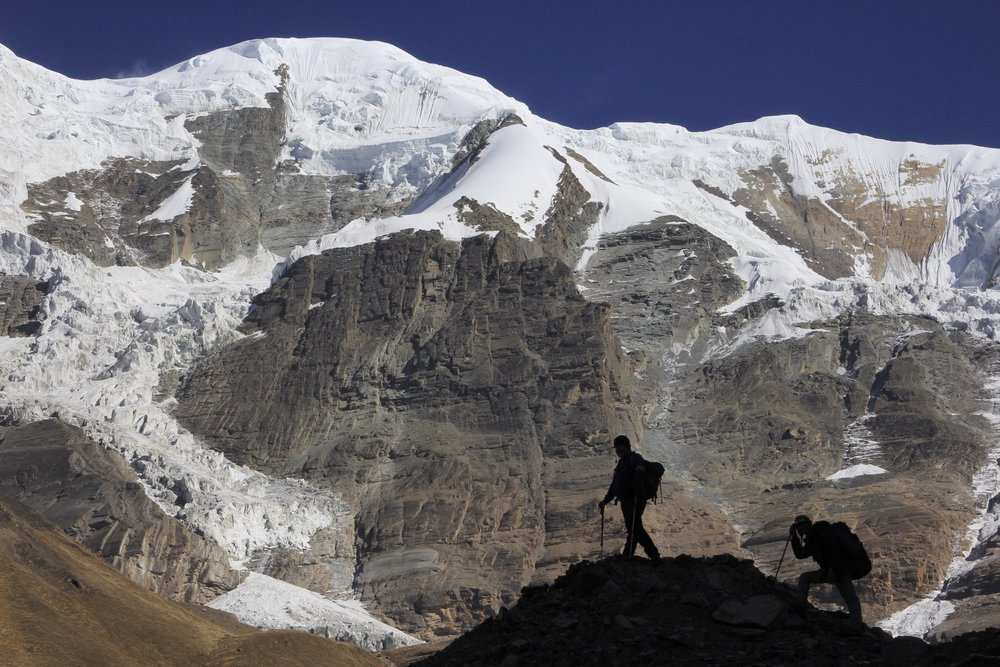 Nort-west ridge of Dhaulagiri II.