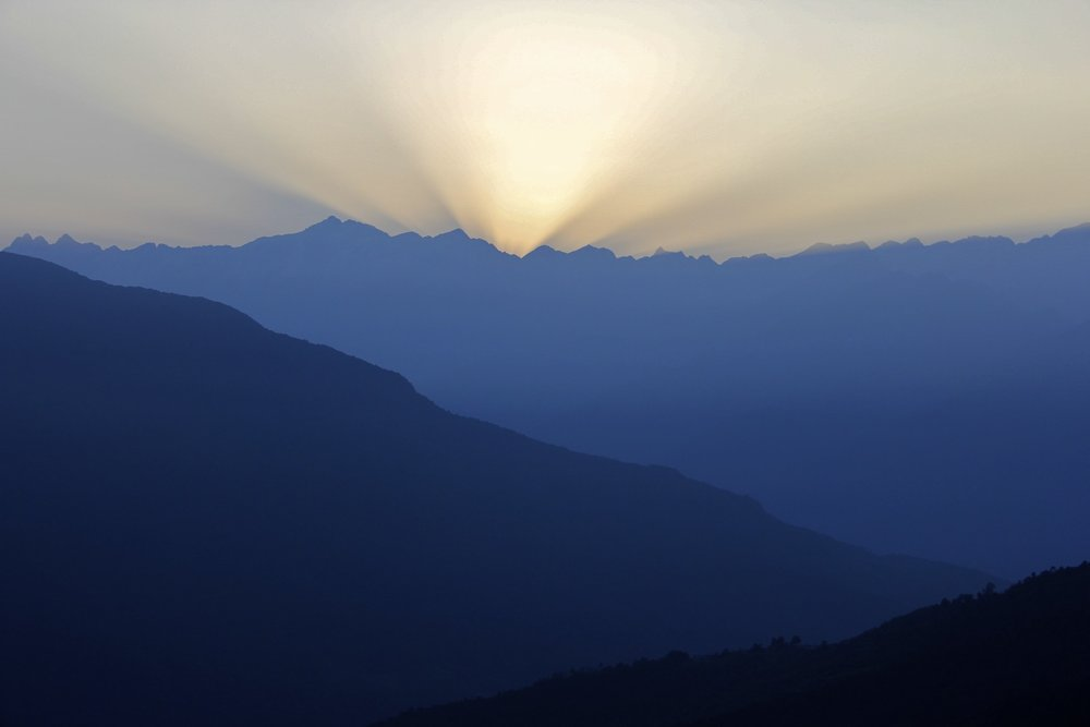 Sunrise over Kangchendzonga