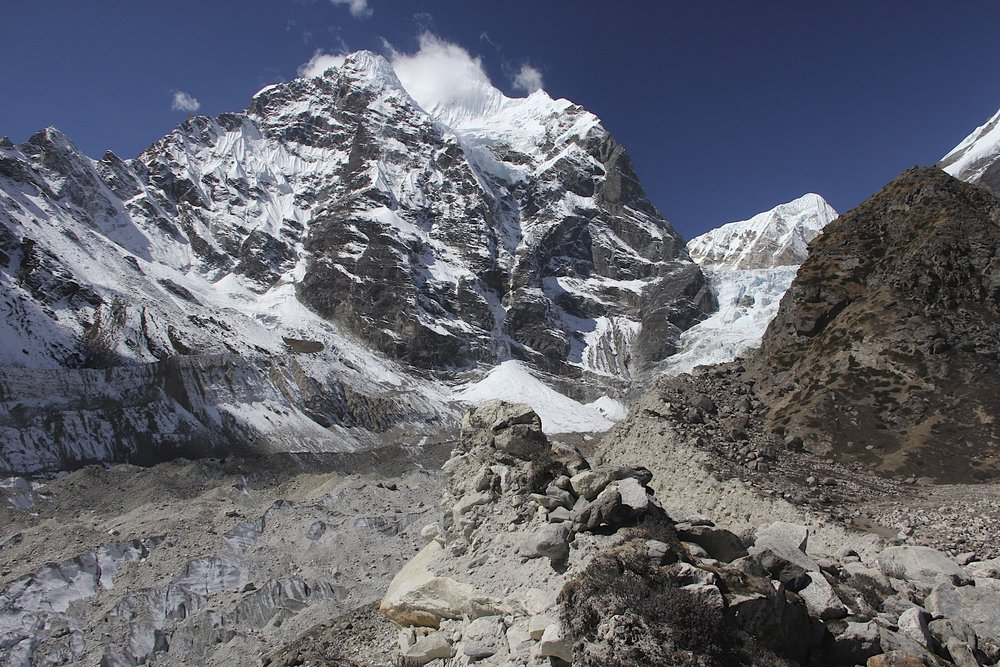 Lower Barun Glacier