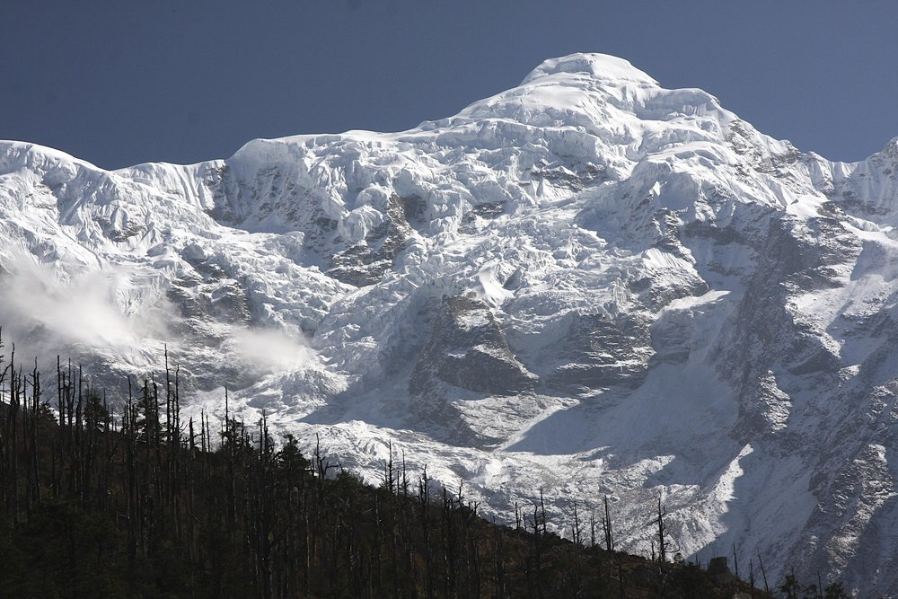 Manaslu massif from the west