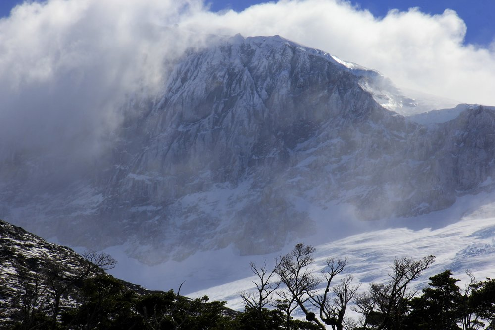 The mountains of Tierra del Fuego - wild and remote