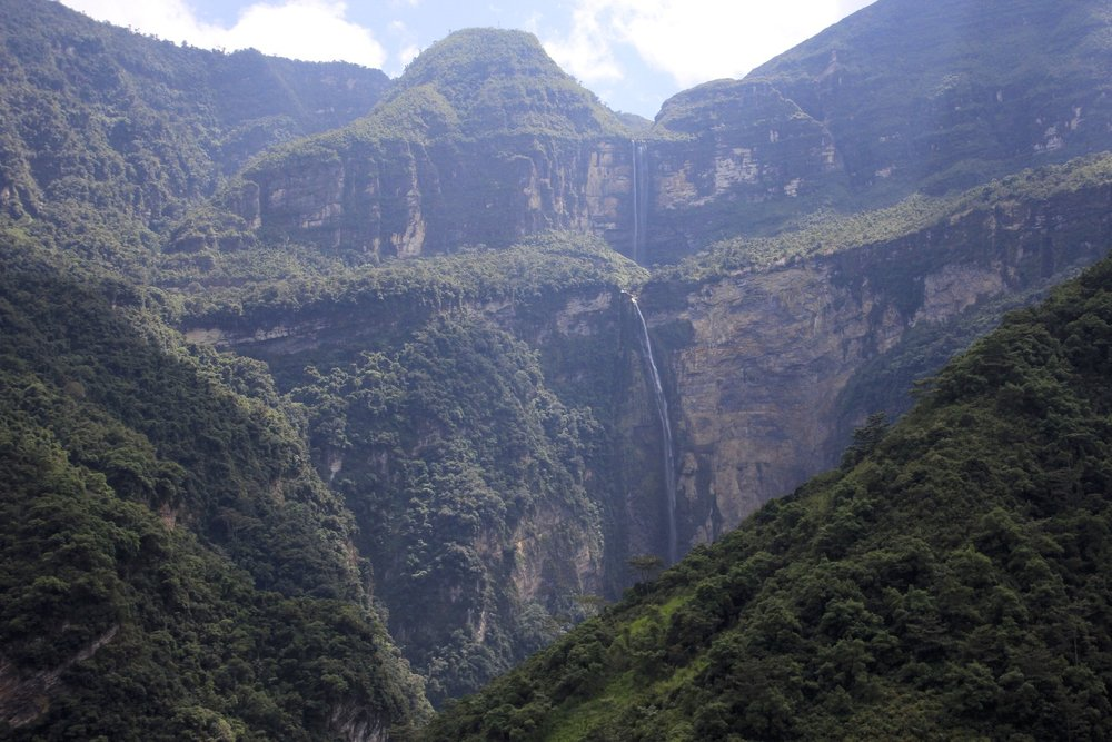 Gocta Waterfall - the third highest in the world