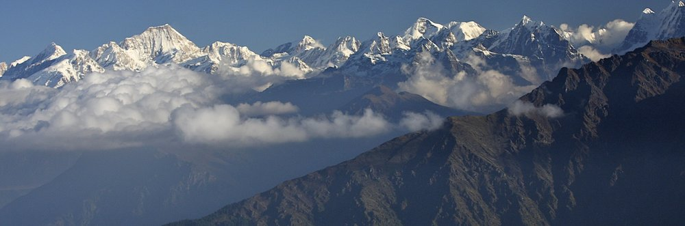 The portion of the Langtang Himmal in this photo is in Tibet (China).