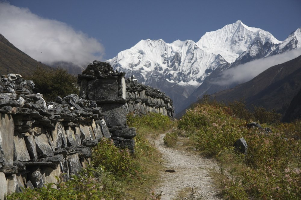 The final stretch of the trail to Kyanjing Gompa.