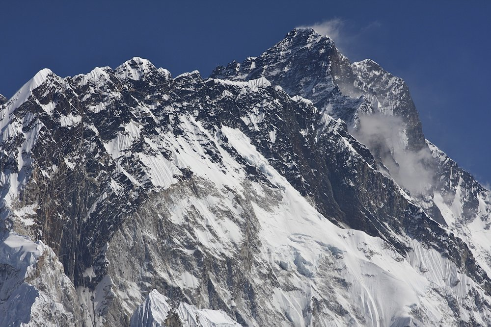 Nuptse and Lhotse