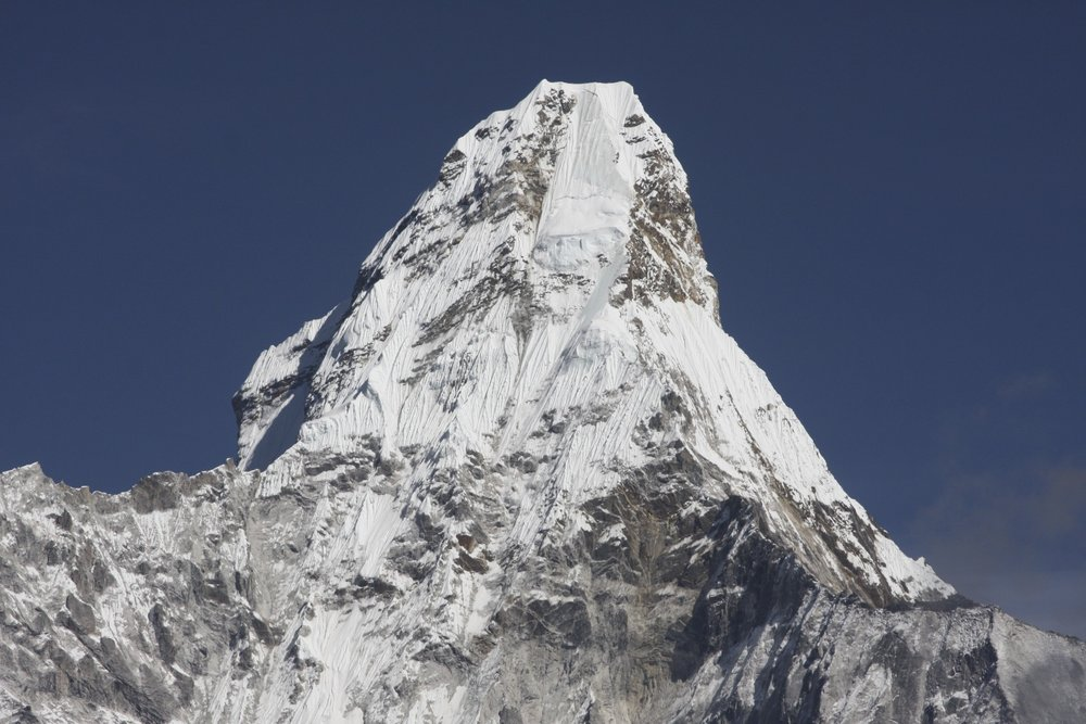Ama Dablam the summit pyramid