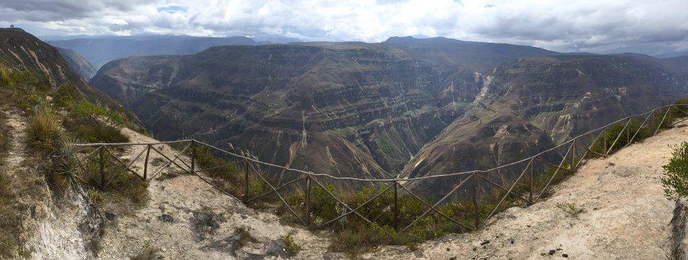 Sonche Canyon near Chachapoyas