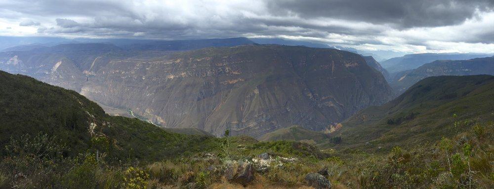 The Andean cloud forest near Chachapoyas, 700 km north of Lima