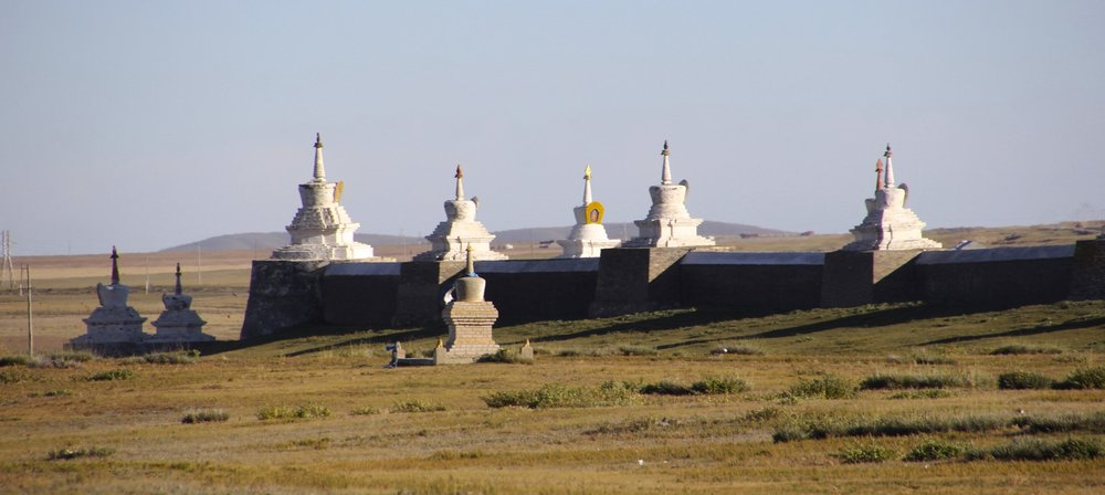 The ancient capital of Genghis Khan - Karakorum