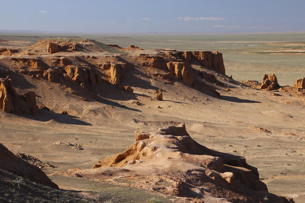 Flaming Cliffs in the Gobi