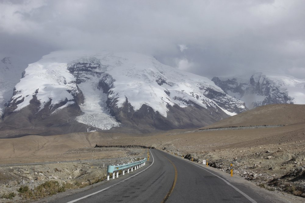 The Pamir Highway and the Muztagh Ata