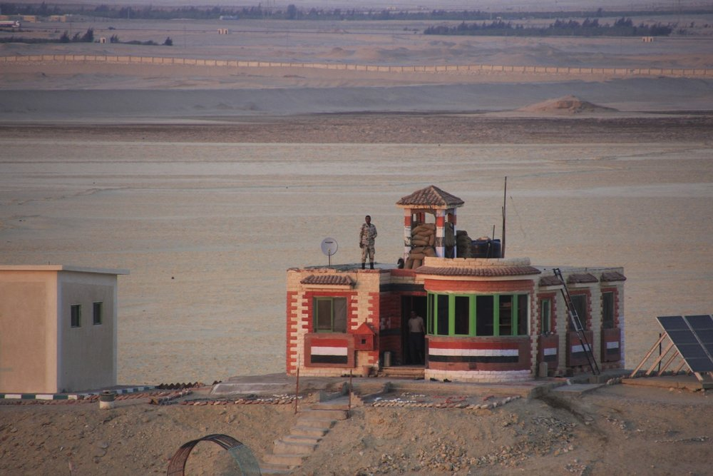 Egyptian guard post