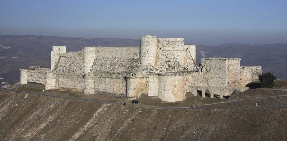 Crusader's castle Crack de Chavalier