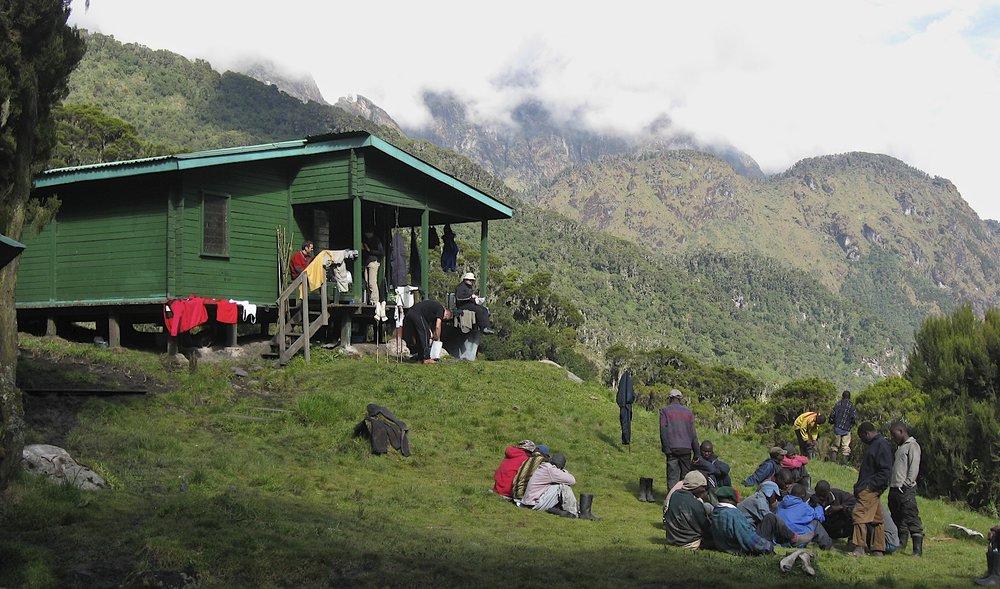 John Matte Hut 3,505m
