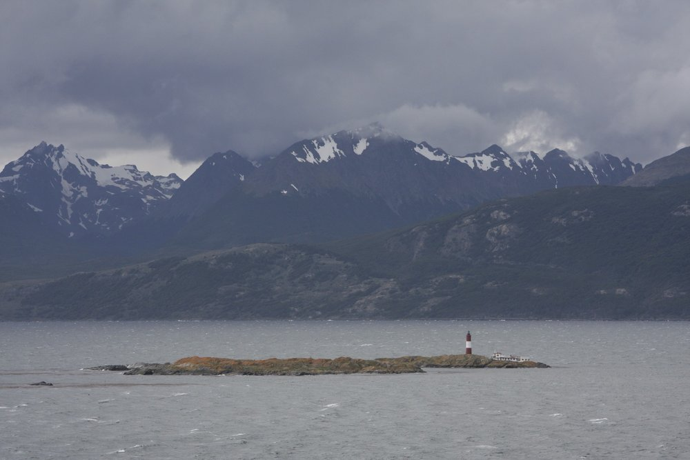 Argentina shore along the Beagle Channel