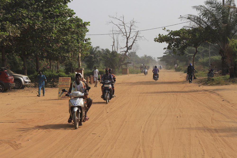 Ouidah, Benin, the road of no return