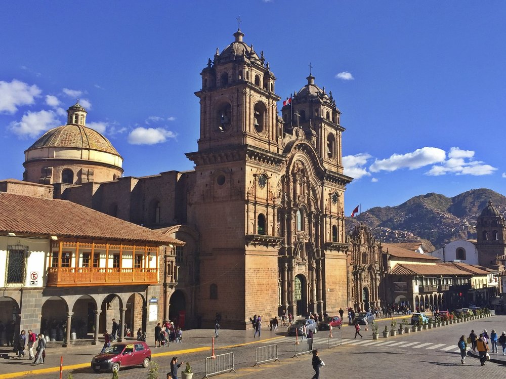 Church de la compana de Jesus in Cusco's main square