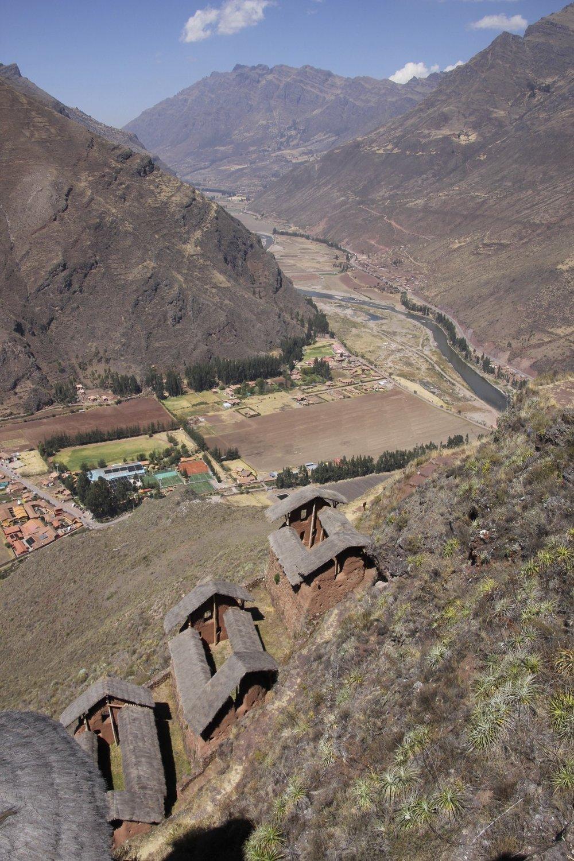 Inca ruins of Pisac