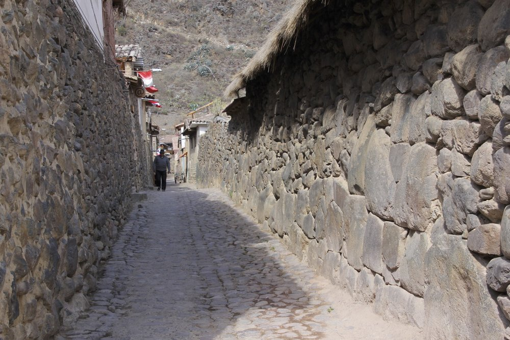 Old Inca town of Ollantaytambo