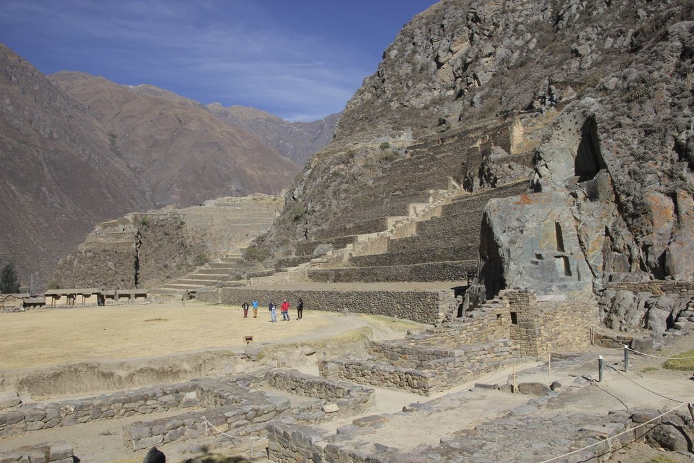 The Ollantaytambo Fortress
