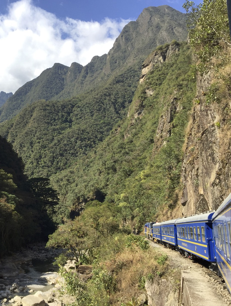 The train to Machu Picchu