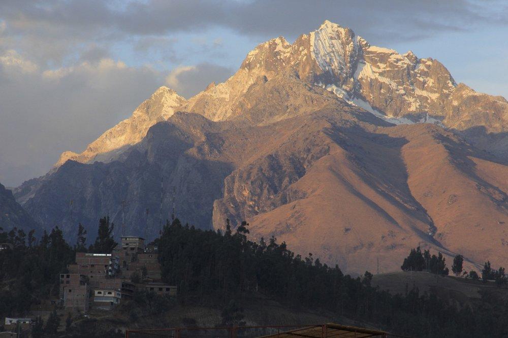 Cordillera Blanca above Huaraz