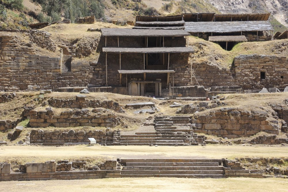 The ceremonial center of Chavin - the ancients did use hallucinogenic substances and practice cannibalism