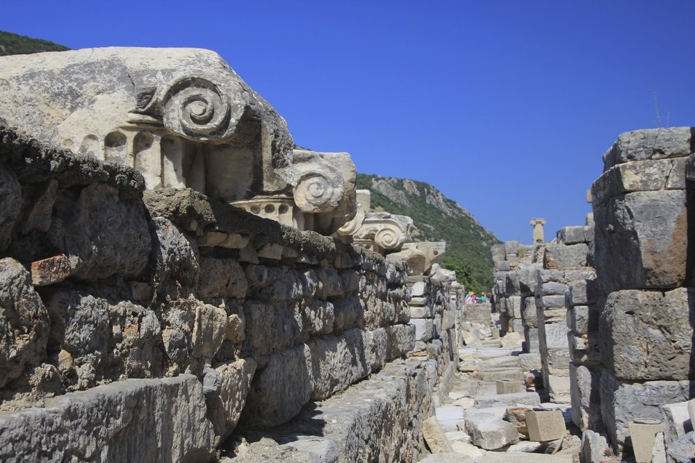 Ephesus, the old port of the Romans