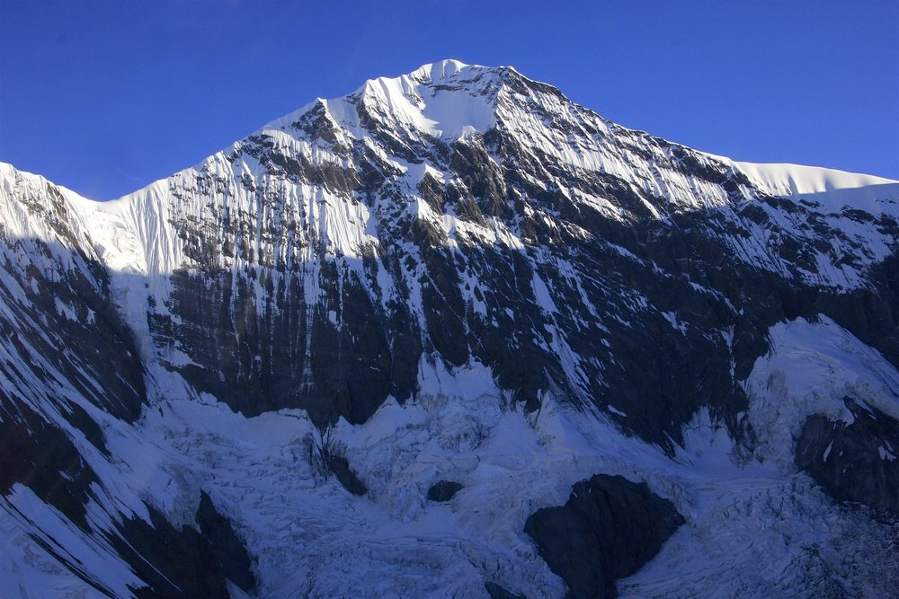 Gangapurna - this peak is very prominent from the Annapurna Circuit trail