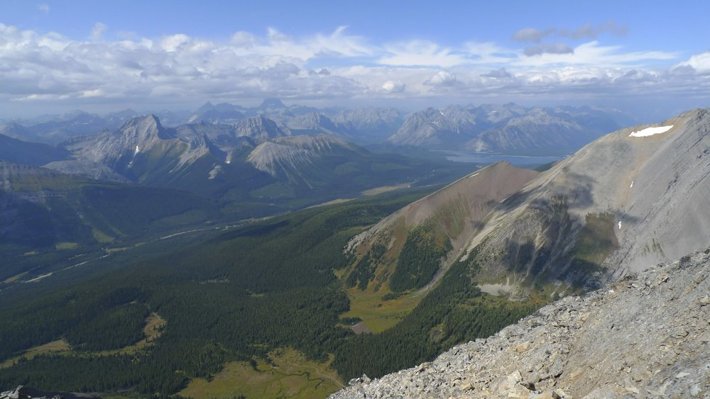 Kananaskis Country from the summit of Mt. Chester