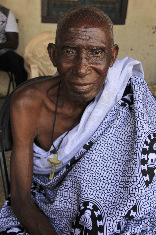 An Ashanti elder