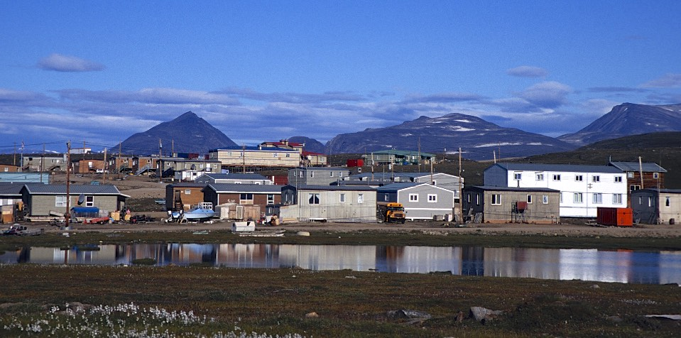 Pond Inlet on the north side of the Baffin Island