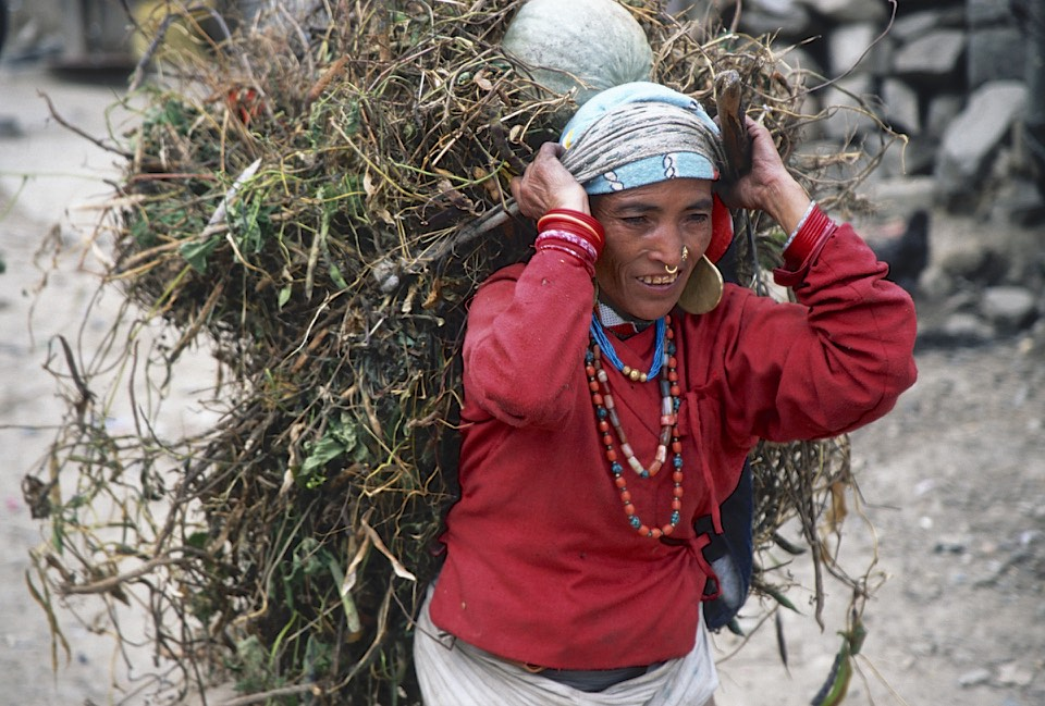 The distinct look of people from Western Nepal