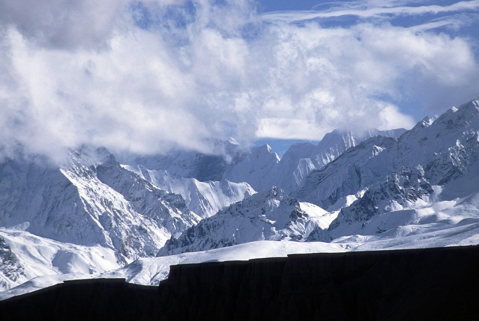 Jokopahar 6,744m in Western Nepal on the broder of Nepal, Tibet and India