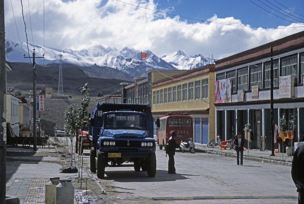 The Chinese outpost of Burang