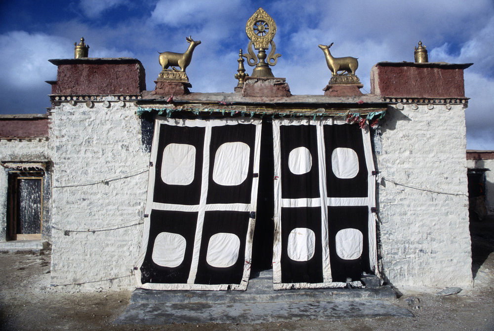 Chiu Gompa - the main gate