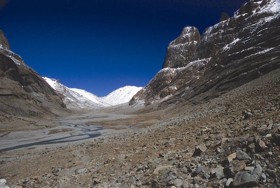 Mount Kailash, the western flank.