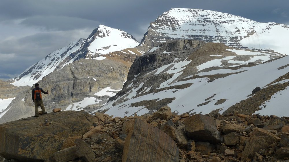 Mt. President in Yoho National Park