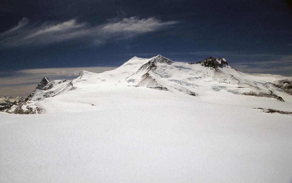 Gorra Blanca, Paso Marconi from Cerro Marconi Norte