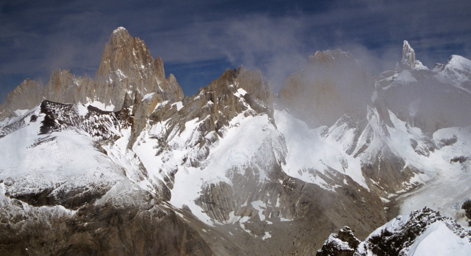 Fitz Roy from Cerro Marconi Norte