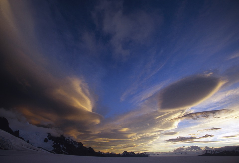 Awesome clouds of southern Patagonia