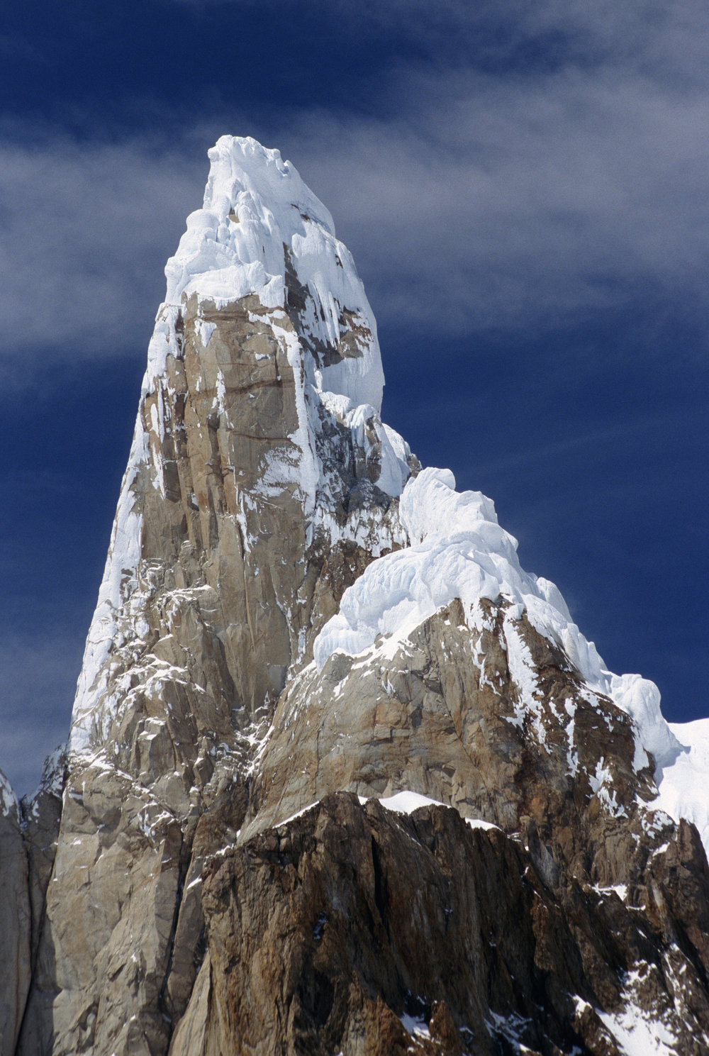 Base of the Cerro Torre