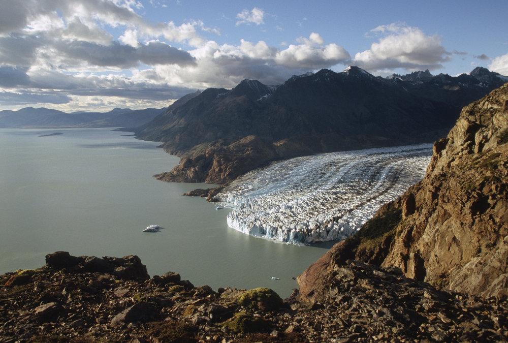 Glacier Viedma and Lago Viedma