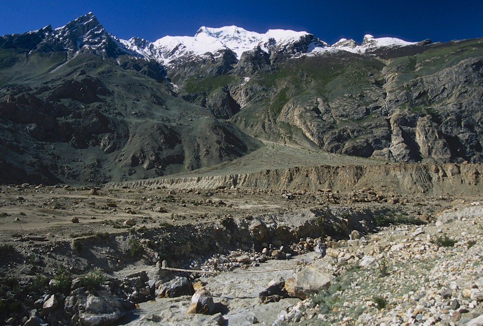 The spot where the trail to K2 meets the trail to the Biafo Glacier