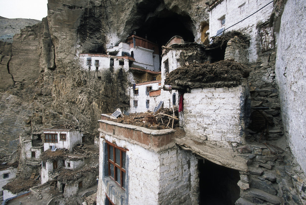 The incredible Phuktal Gompa where we spent the night.