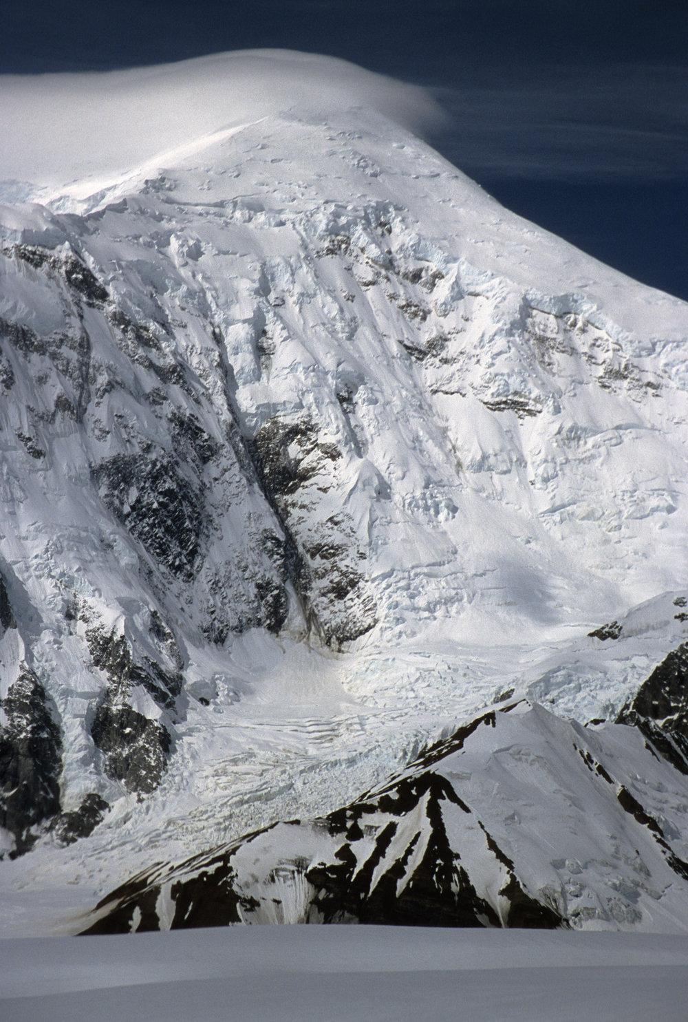 North Face of Mt. Foraker 17,400 ft